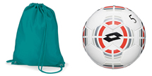 Personalise everything from gym bags to footballs